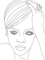 Rihanna-coloring-pages-1