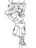animatronics-foxy-coloring-pages-12