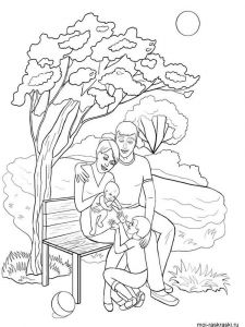 family-coloring-pages-16
