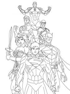justice-league-coloring-pages-12