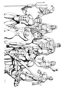 justice-league-coloring-pages-8