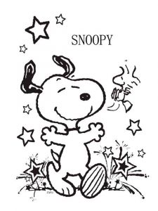 snoopy-coloring-pages-4
