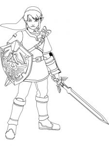 zelda-coloring-pages-1
