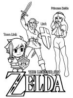 zelda-coloring-pages-11
