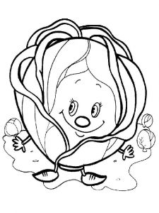 Vegetables-Cabbage-coloring-page-10