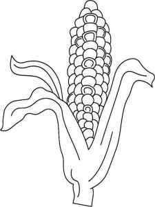 Vegetables-Corn-coloring-page-6