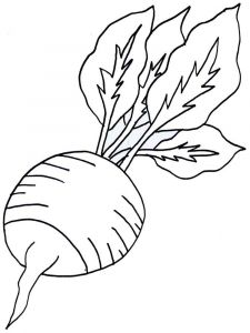 Vegetables-Radish-coloring-page-7