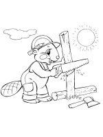 coloring-pages-Beaver-21