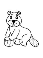 coloring-pages-Beaver-3