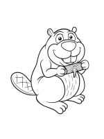 coloring-pages-Beaver-8