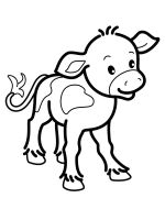 Calf-coloring-pages-4