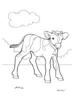 Calf-coloring-pages-7
