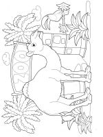 Camel-animal-coloring-pages-349