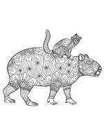 Capybara-coloring-pages-1