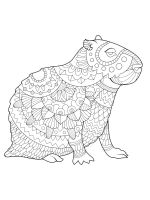 Capybara-coloring-pages-14