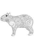 Capybara-coloring-pages-9