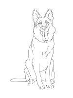 German-Shepherd-coloring-pages-6