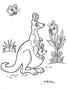 Kangaroo-animal-coloring-pages-340