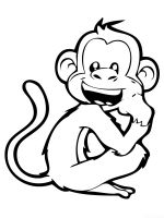 Monkey-animal-coloring-pages-366