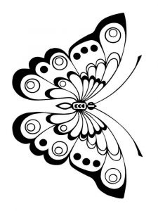 coloring-pages-animals-butterfly-13