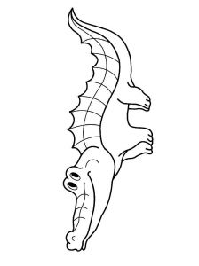 coloring-pages-animals-crocodile-8