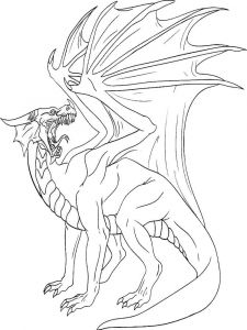 coloring-pages-animals-dragon-11