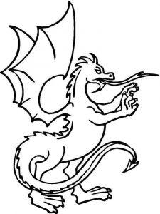 coloring-pages-animals-dragon-7