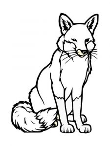 coloring-pages-animals-fox-7