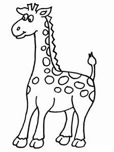 coloring-pages-animals-giraffe-4