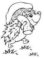 coloring-pages-animals-hedgehog-7