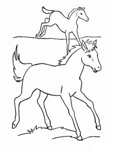coloring-pages-animals-horse-1