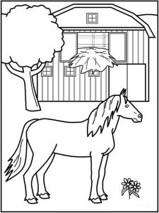 coloring-pages-animals-horse-10