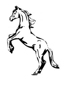 coloring-pages-animals-horse-18