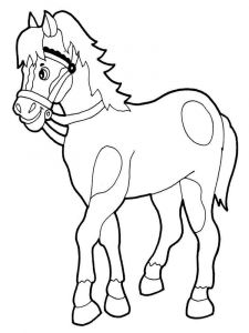 coloring-pages-animals-horse-4