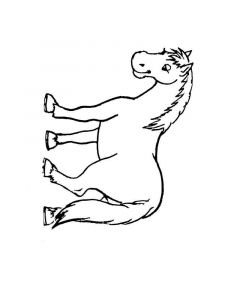 coloring-pages-animals-horse-6