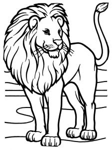 coloring-pages-animals-lion-8