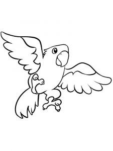 coloring-pages-animals-parrot-11