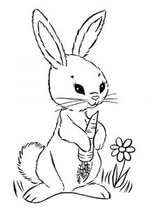 coloring-pages-animals-rabbits-1