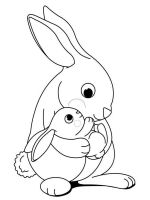 coloring-pages-animals-rabbits-3