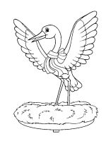 coloring-pages-Stork-1