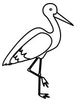coloring-pages-Stork-2