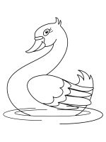 coloring-pages-Swans-2