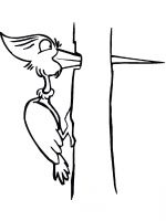 coloring-pages-Woodpeckers-12