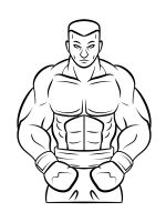 coloring-pages-Boxing-1