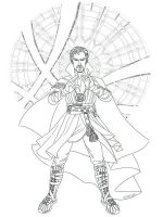 Dr-Strange-coloring-pages-1