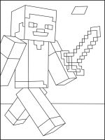 Minecraft-Steve-coloring-pages-5