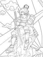 coloring-pages-Samurai-10