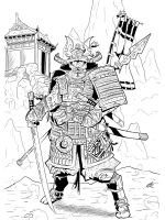 coloring-pages-Samurai-2