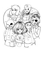 Undertale-coloring-pages-14