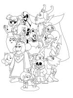 Undertale-coloring-pages-24